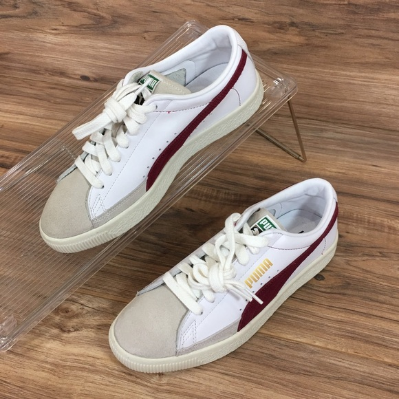 pretty nice 599d7 15731 Puma Basket 90680 Retro Leather Sneakers Shoes New NWT